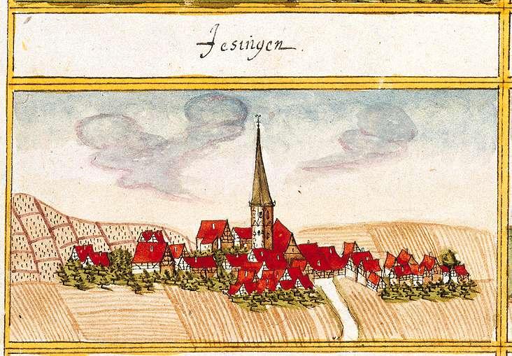 Unterjesingen, Tübingen TÜ, Bild 1