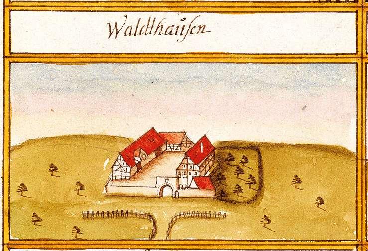 Waldhausen : Stadt Tübingen TÜ, Bild 1