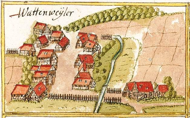 Wattenweiler : Oberweissach, Weissach im Tal WN, Bild 1