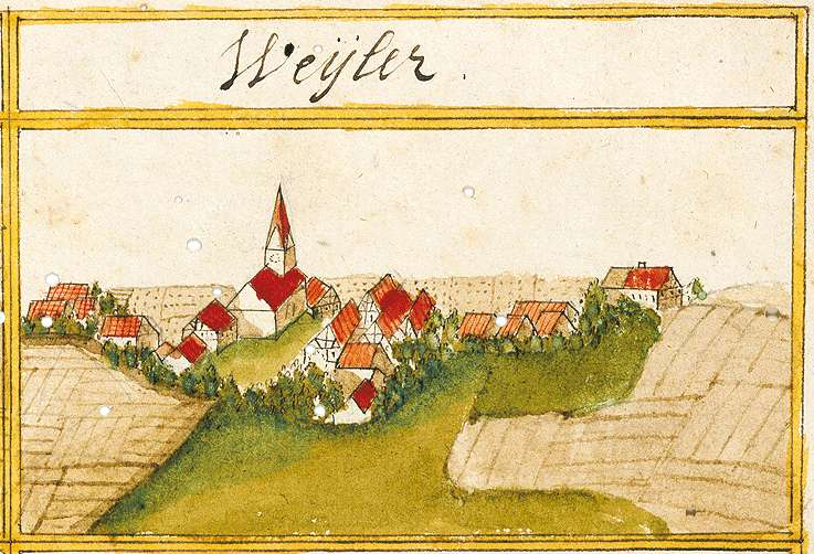 Weiler ob der Fils, Ebersbach an der Fils GP, Bild 1