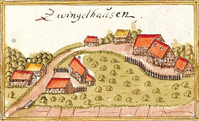Zwingelhausen : Kirchberg an der Murr WN, Bild 1