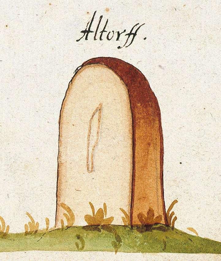 Altdorf BB (Tübinger Forst, Marksteinzeichen I), Bild 1