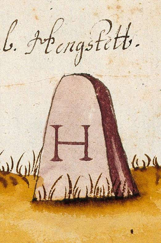 Althengstett CW (Böblinger Forst, Marksteinzeichen II), Bild 1