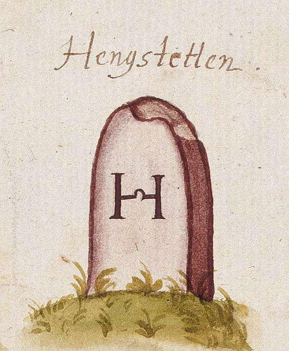 Althengstett CW (Leonberger Forst, Marksteinzeichen I), Bild 1