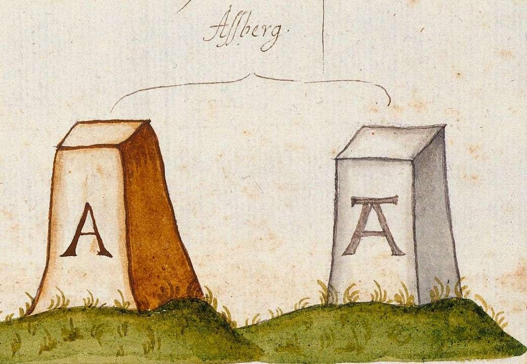 Asperg LB (Leonberger Forst, Marksteinzeichen II), Bild 1