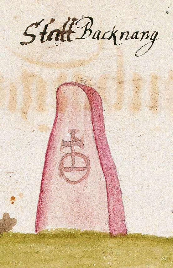 Backnang WN (Reichenberger Forst, Marksteinzeichen I), Bild 1