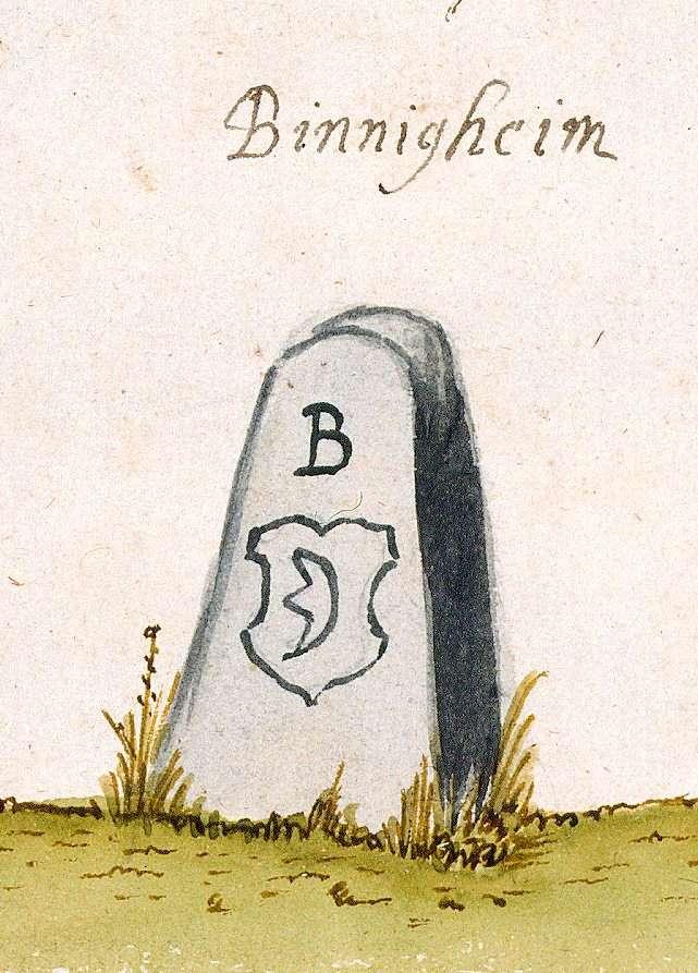 Bönnigheim LB (Stromberger Forst, Marksteinzeichen I), Bild 1
