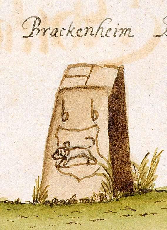 Brackenheim HN (Stromberger Forst, Marksteinzeichen I), Bild 1