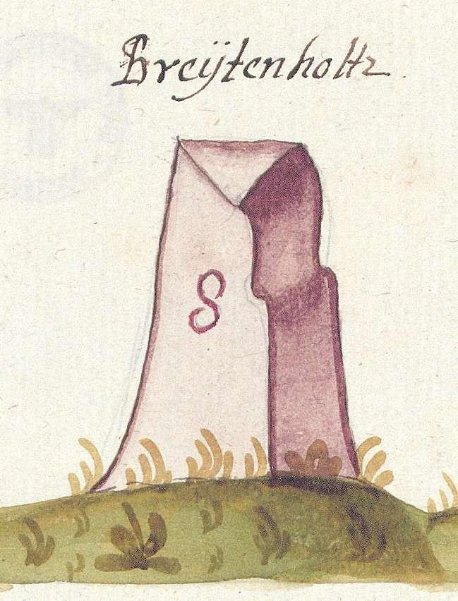 Breitenholz, Ammerbuch TÜ (Tübinger Forst, Marksteinzeichen II), Bild 1