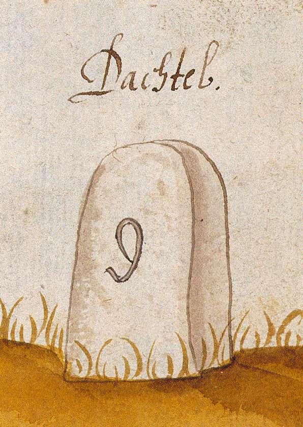 Dachtel, Aidlingen BB (Böblinger Forst, Marksteinzeichen I), Bild 1
