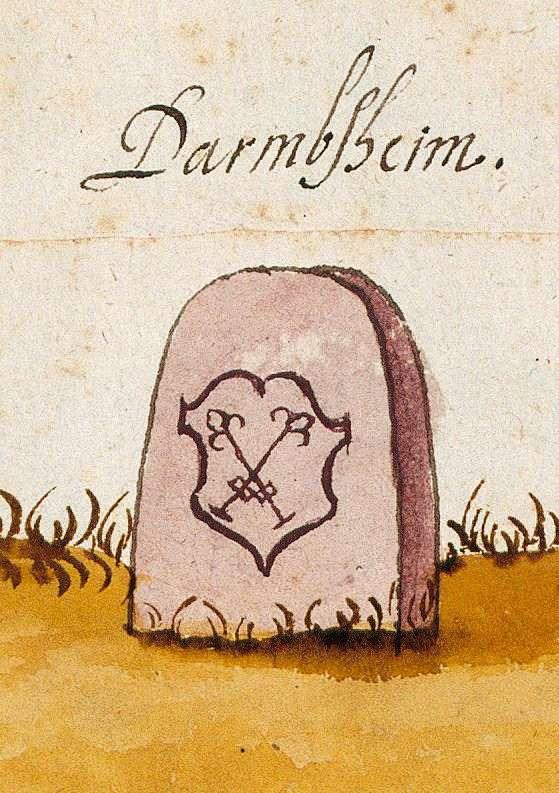 Darmsheim, Sindelfingen BB (Böblinger Forst, Marksteinzeichen II), Bild 1