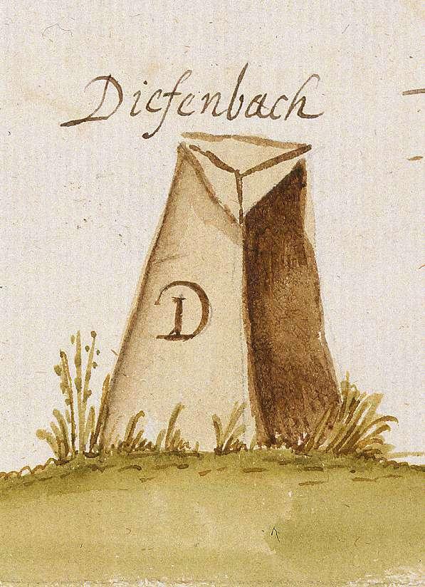 Diefenbach, Sternenfels, PF (Stromberger Forst, Marksteinzeichen II), Bild 1