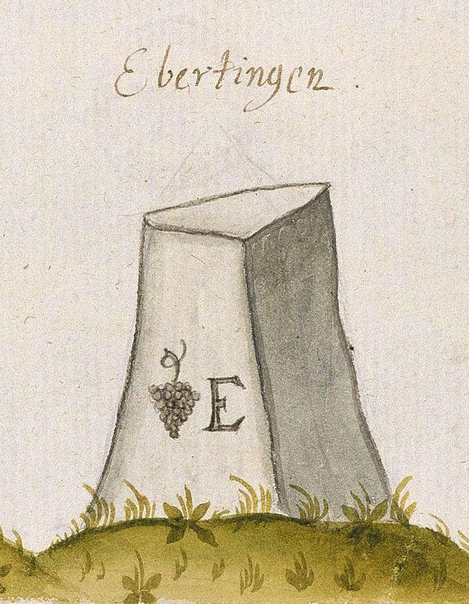 Eberdingen LB (Leonberger Forst, Marksteinzeichen III), Bild 1