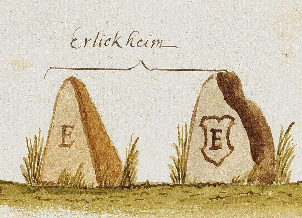 Erligheim LB (Stromberger Forst, Marksteinzeichen III), Bild 1