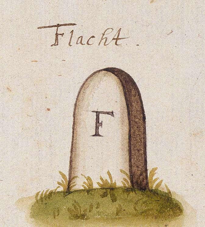 Flacht, Weissach BB (Leonberger Forst, Marksteinzeichen I), Bild 1
