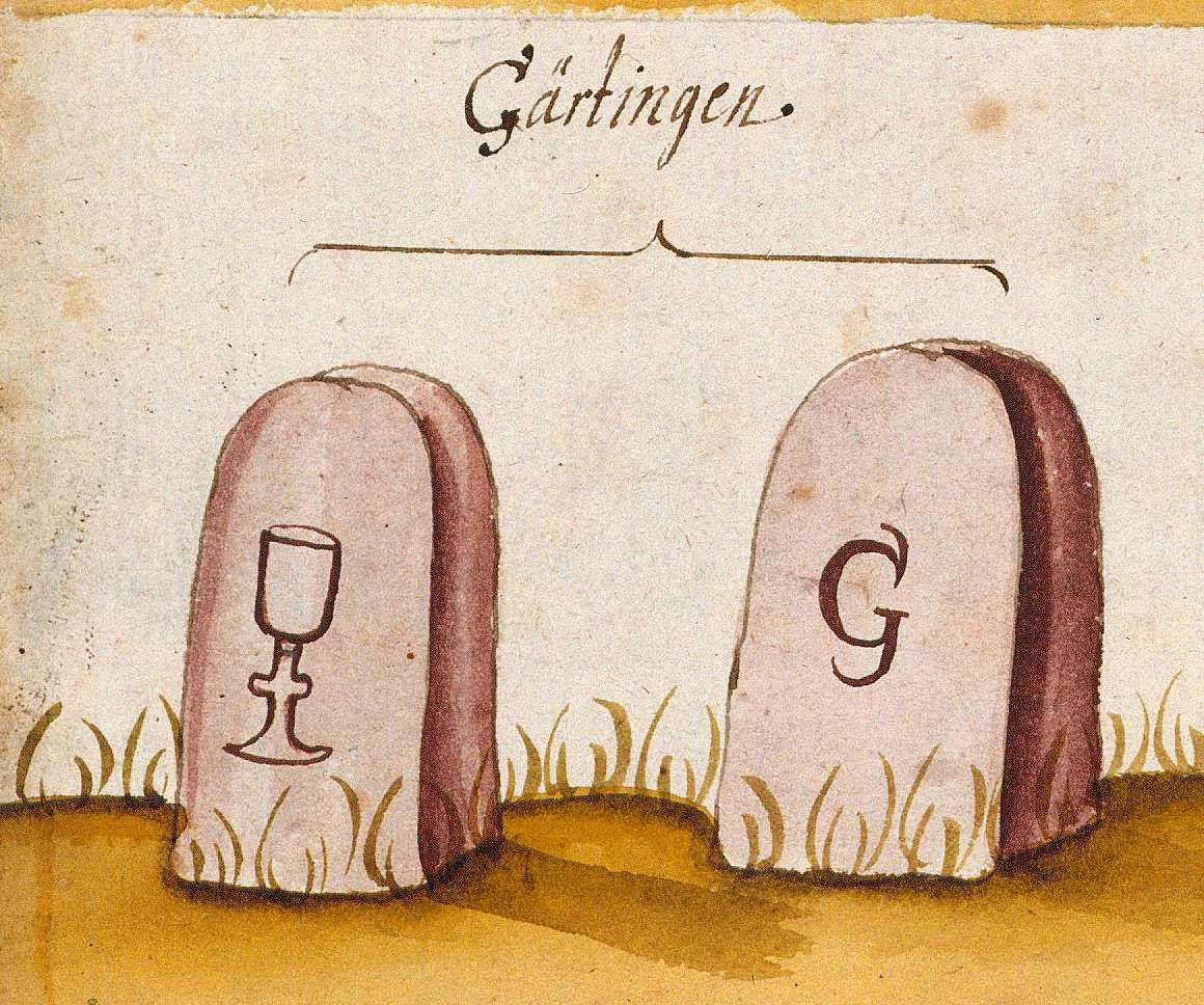 Gärtringen BB (Böblinger Forst, Marksteinzeichen I), Bild 1