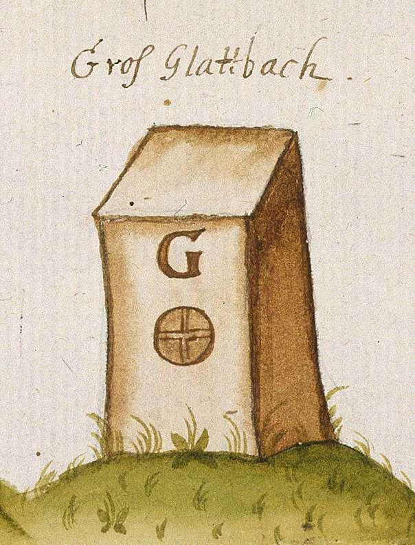 Großglattbach, Mühlacker, PF (Leonberger Forst, Marksteinzeichen III), Bild 1
