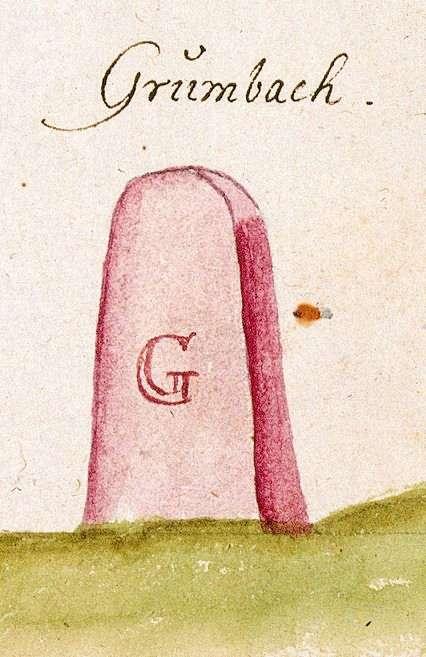 Grunbach, Remshalden WN (Schorndorfer Forst, Marksteinzeichen I), Bild 1