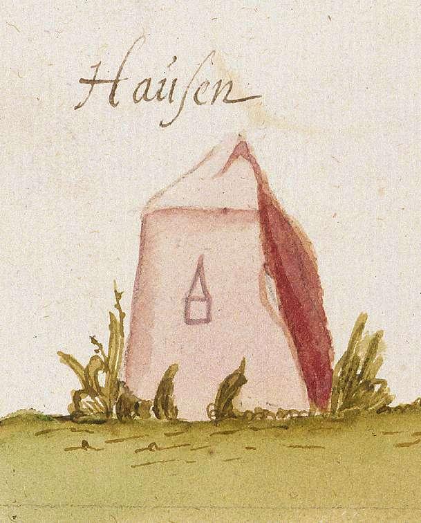 Hausen an der Zaber, Brackenheim HN (Stromberger Forst, Marksteinzeichen II), Bild 1