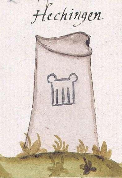 Hechingen BL (Tübinger Forst, Marksteinzeichen IV), Bild 1