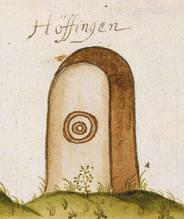 Höfingen, Leonberg BB (Leonberger Forst, Marksteinzeichen III), Bild 1