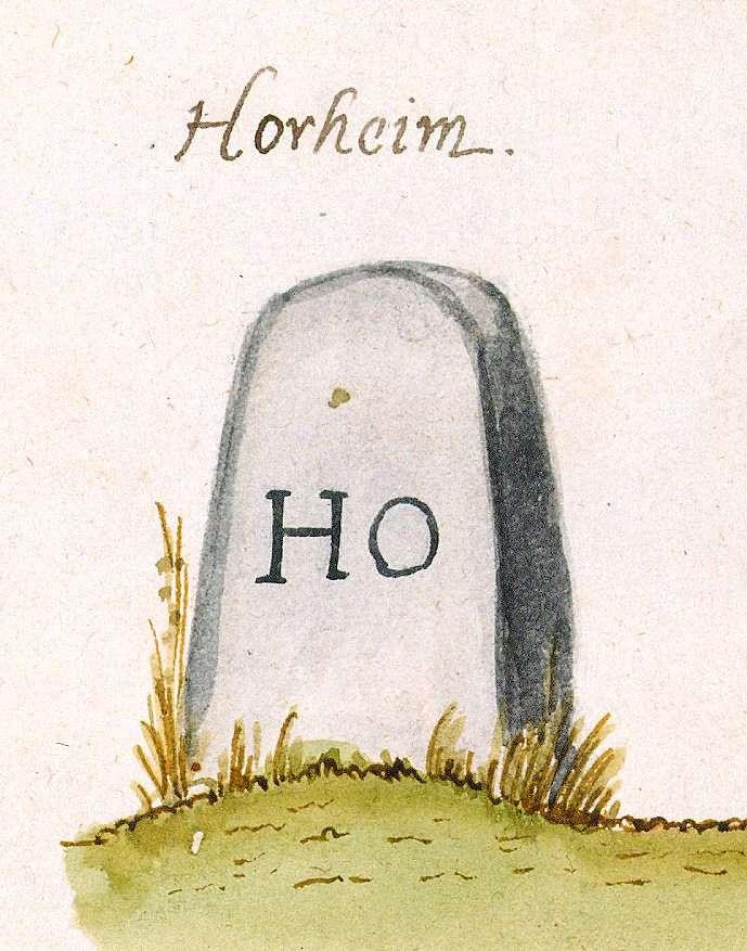Horrheim, Vaihingen an der Enz LB (Stromberger Forst, Marksteinzeichen I), Bild 1