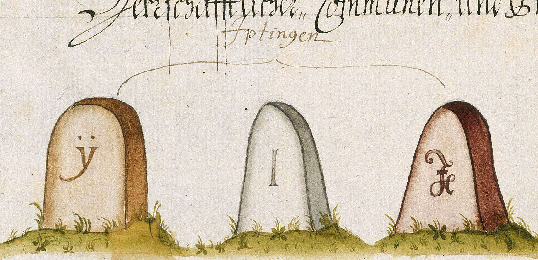 Iptingen, Wiernsheim, PF (Leonberger Forst, Marksteinzeichen III), Bild 1