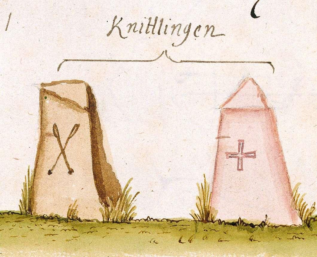 Knittlingen, PF (Stromberger Forst, Marksteinzeichen I), Bild 1
