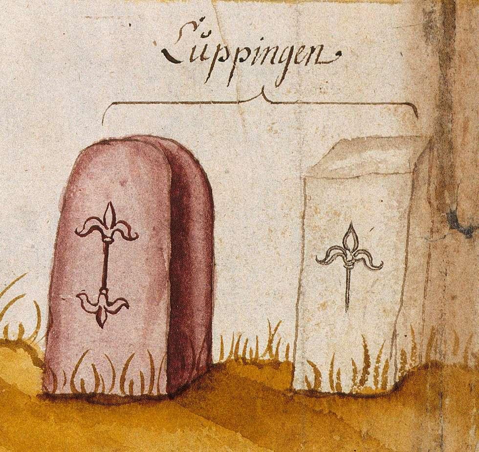 Kuppingen, Herrenberg BB (Böblinger Forst, Marksteinzeichen I), Bild 1