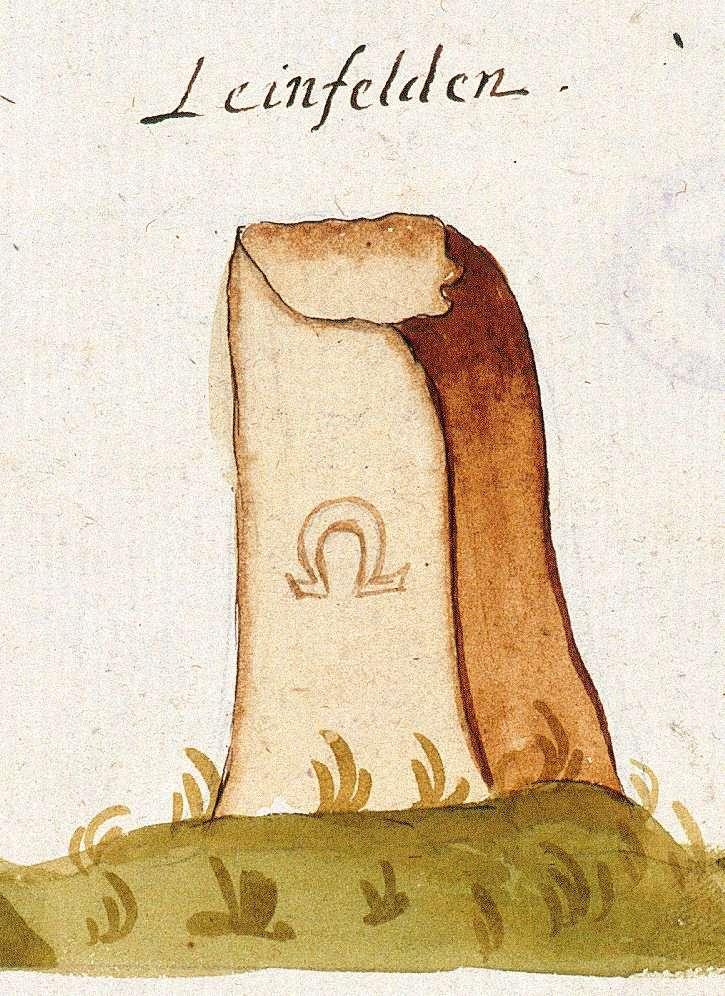 Leinfelden, Leinfelden-Echterdingen ES (Tübinger Forst, Marksteinzeichen I), Bild 1