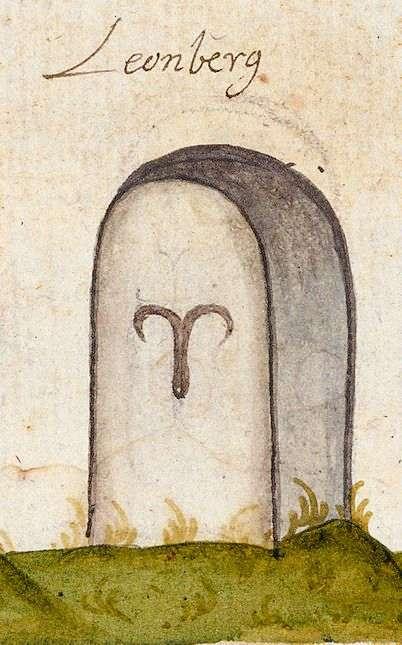 Leonberg BB (Leonberger Forst, Marksteinzeichen II), Bild 1