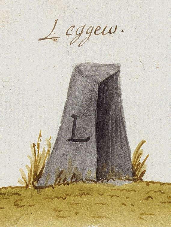 Löchgau LB (Stromberger Forst, Marksteinzeichen III), Bild 1