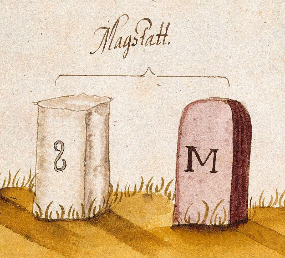 Magstadt BB (Böblinger Forst, Marksteinzeichen I), Bild 1