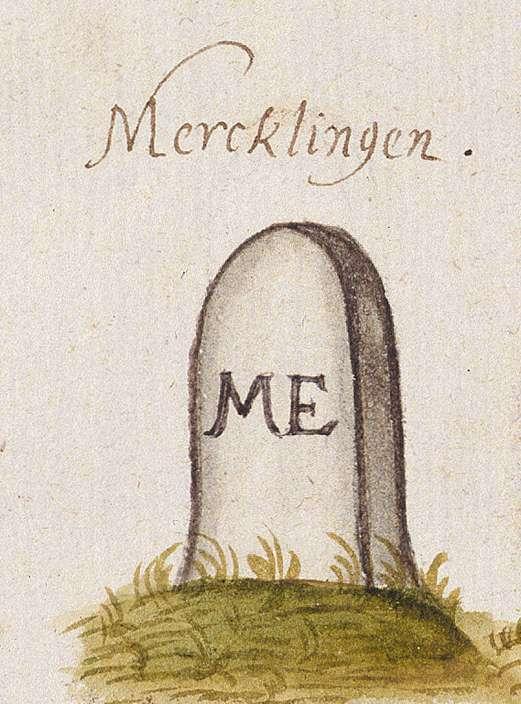 Merklingen, Weil der Stadt BB (Leonberger Forst, Marksteinzeichen I), Bild 1