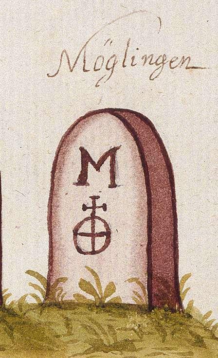 Möglingen LB (Leonberger Forst, Marksteinzeichen I), Bild 1