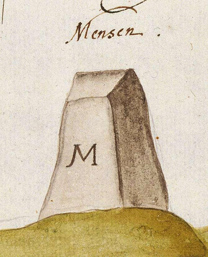 Mönsheim, PF (Leonberger Forst, Marksteinzeichen IV), Bild 1