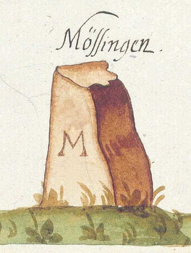 Mössingen TÜ (Tübinger Forst, Marksteinzeichen II), Bild 1