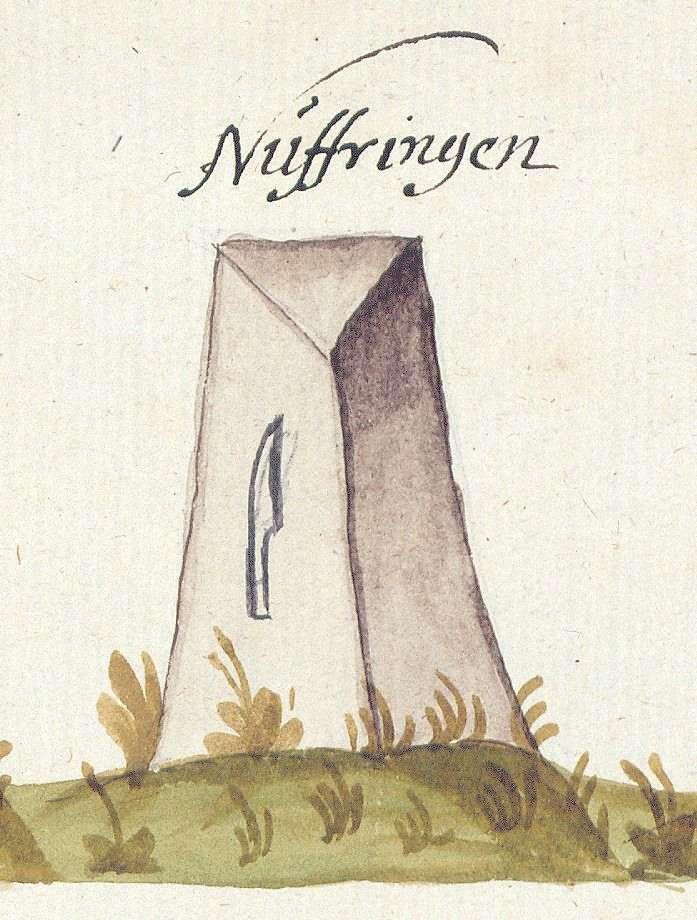 Nufringen BB (Tübinger Forst, Marksteinzeichen II), Bild 1