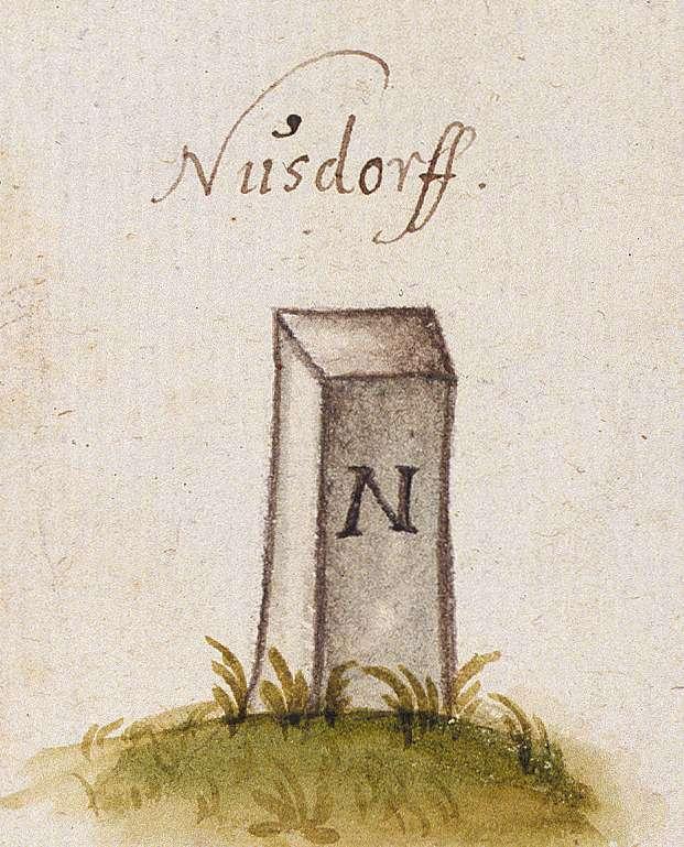 Nussdorf, Eberdingen LB (Leonberger Forst, Marksteinzeichen I), Bild 1