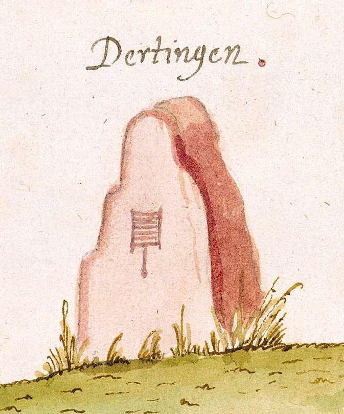 Oberderdingen, KA (Stromberger Forst, Marksteinzeichen I), Bild 1