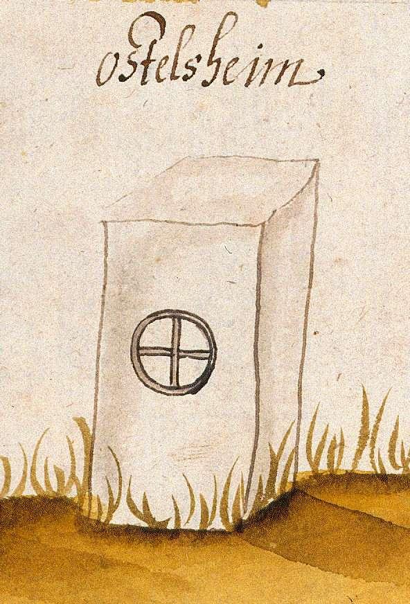 Ostelsheim CW (Böblinger Forst, Marksteinzeichen I), Bild 1