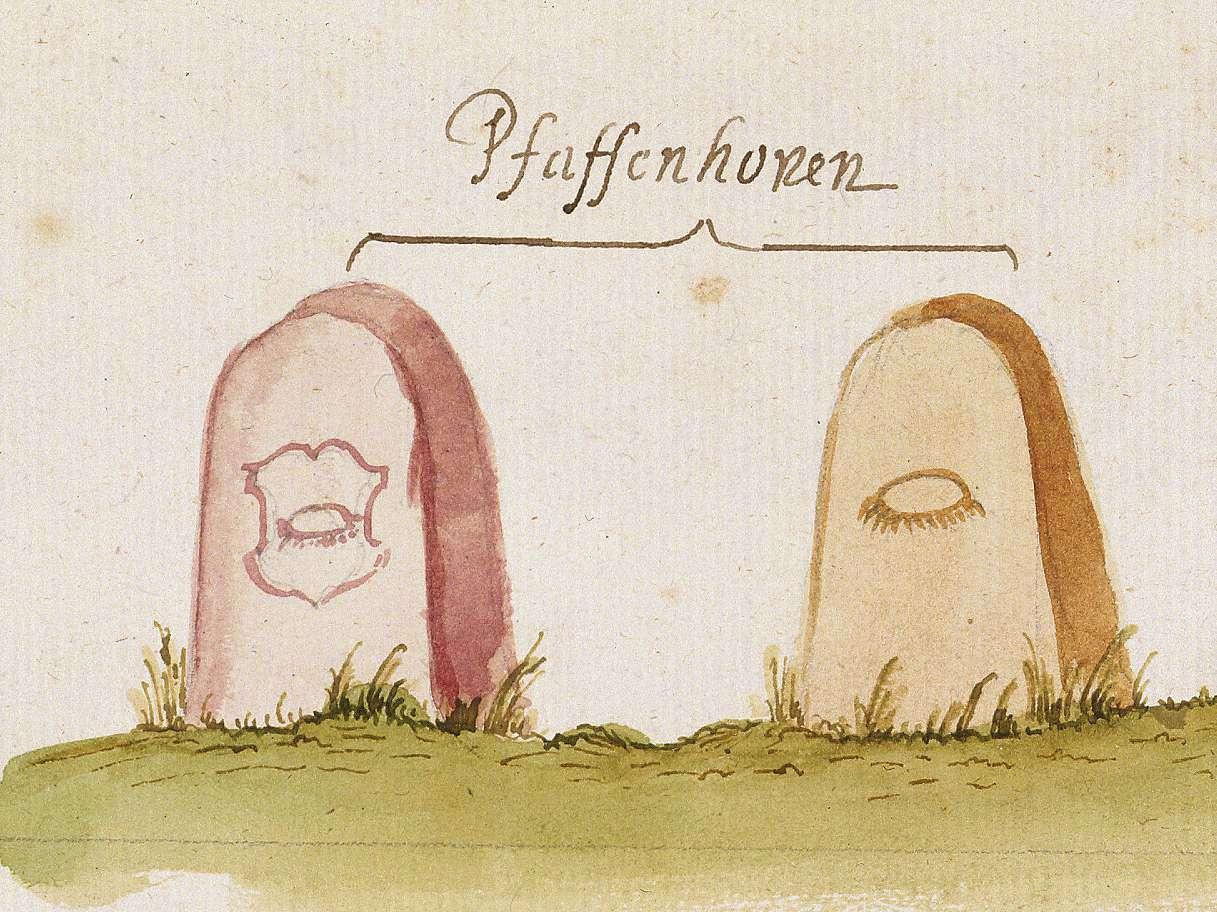Pfaffenhofen HN (Stromberger Forst, Marksteinzeichen II), Bild 1