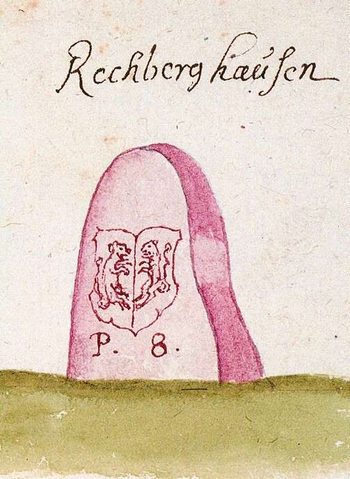 Rechberghausen GP (Schorndorfer Forst, Marksteinzeichen II), Bild 1