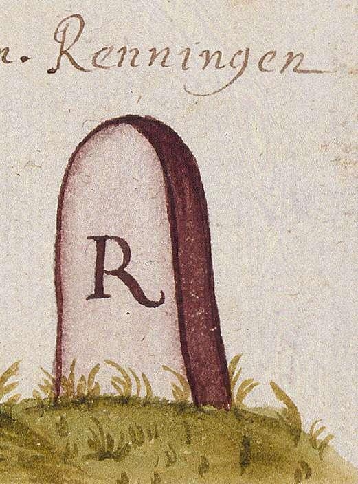 Renningen BB (Leonberger Forst, Marksteinzeichen I), Bild 1
