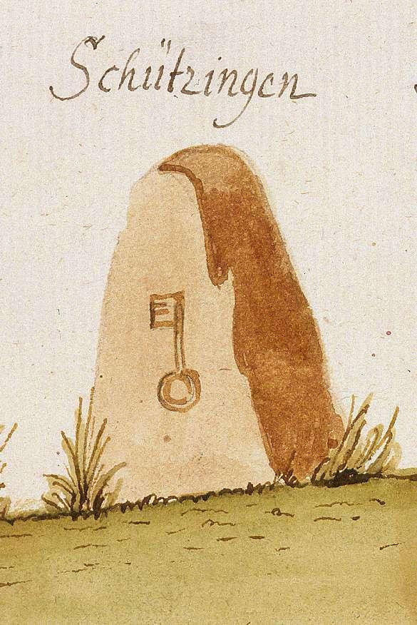 Schützingen, Illingen, PF (Stromberger Forst, Marksteinzeichen II), Bild 1