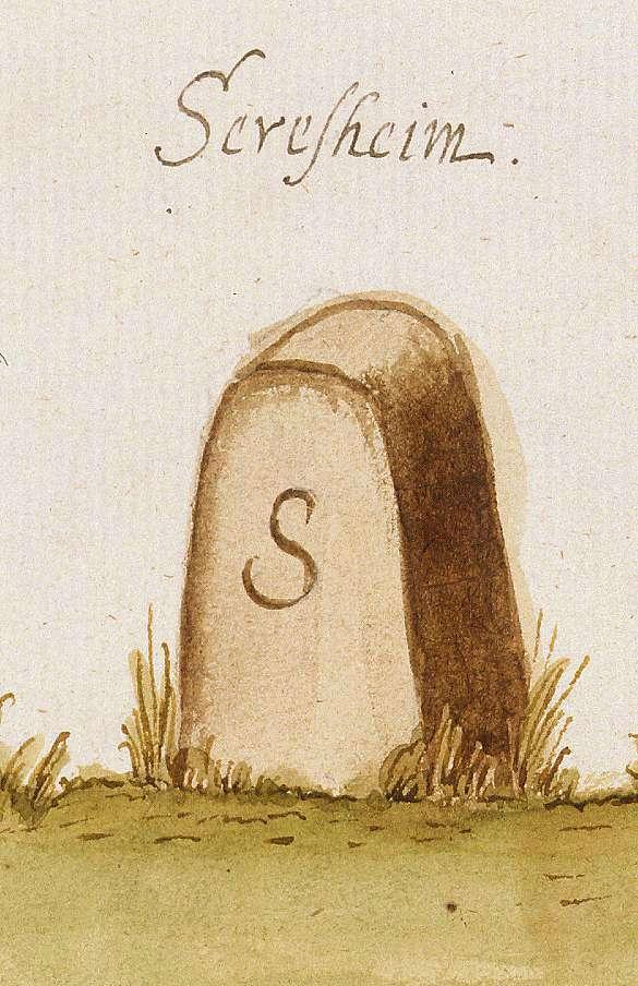 Sersheim LB (Stromberger Forst, Marksteinzeichen II), Bild 1