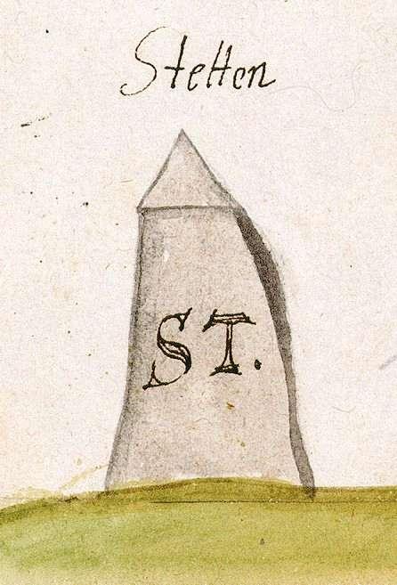 Stetten im Remstal, Kernen im Remstal WN (Schorndorfer Forst, Marksteinzeichen I), Bild 1