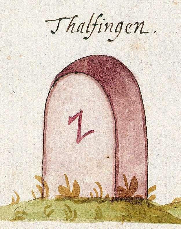 Tailfingen, Gäufelden BB (Tübinger Forst, Marksteinzeichen I), Bild 1