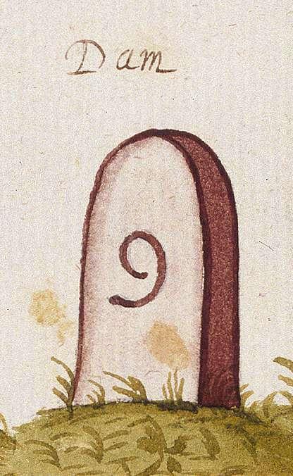 Tamm LB (Leonberger Forst, Marksteinzeichen I), Bild 1