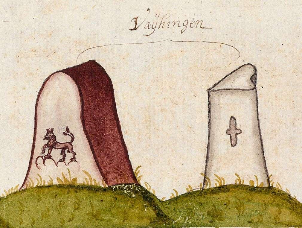 Vaihingen/Enz LB (Leonberger Forst, Marksteinzeichen II), Bild 1